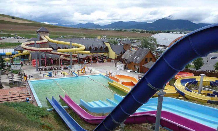 aquapark Tatralandia na Słowacji, aut. Pavel Ševela