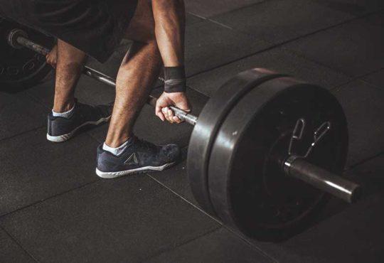 ciężary na siłowni