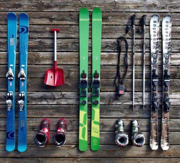 narty i sprzęt zimowy