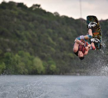 jazda na wakeboardzie